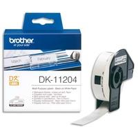 BROTHER Rouleau de 400 étiquettes prédécoupées multiusage 17x54mm DK11204