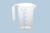 Odmerná kanva (PP) 500ml, otvorené držadlo