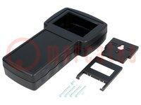 Boîtier: pour appareils avec écran; X:110mm; Y:210mm; Z:40,5mm