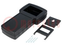 Enclosure: for devices with displays; X:110mm; Y:210mm; Z:40.5mm