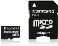 Transcend 16GB microSDHC Class 10 UHS-I Speicherkarte Klasse 10