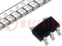 IC: digitaal; OR; Kanalen:1; Ingangen:2; CMOS; SMD; TSSOP5; 2÷6V