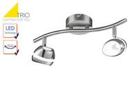 Retro Deckenlampe 3 flammiger LED Deckenstrahler Rondell SHARK Spots schwenkbar
