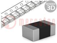 Resistor: thin film (Nichrome); precise; SMD; 0805; 2kΩ; 0.1W