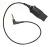 Adapterkabel QD zu N5 für den Anschluss von Headsets der H-Serie, z.B. für E73, E75, N76, N78, N79, N81, N82, N85, N95, N96, N97, N800, X1 X-peria, 5800 Xpress MO300-N5