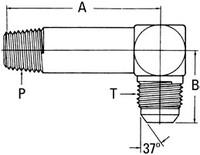 AEROQUIP 202414-4-4S