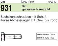 DIN931 M5x120