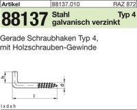 Ger. Schraubhaken 100x6,0x18