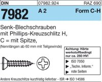 DIN7982 C6,3x19-H