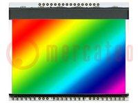 Beleuchtung; Verwendung: EADOGXL160; LED; 78x64x3,8mm