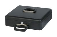 Cash Box with Euro Counting Tray, 37 x 29 x 12 cm