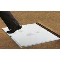 COBA Gangmatte Clean-Step Blau/Grau/Weiß, rutschfest, 6.5mm x 0.6 x 0.8m