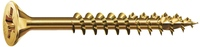Dresselh. 4003530004414 5 x 120 SPAX-Schrauben Senkkopf-Zmit Teilgewinde galv. v