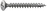 Dresselh. 4003530016332 3,5 x 25 SPAX-SchraubenLinsensenkkopf-Z galv. verzinkt