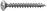 Dresselh. 4003530016417 4 x 25 SPAX-SchraubenLinsensenkkopf-Z galv. verzinkt