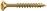Dresselh. 4003530040009 4 x 80 SPAX-Schrauben Senkkopf-Zmit Teilgewinde galv. ve