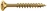 Dresselh. 4003530010293 6 x 80 SPAX-Schrauben Senkkopf-Zmit Teilgewinde galv. ve