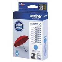 BROTHER Cartouche Jet d'encre Cyan XL LC225XLC