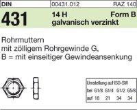 Rohrmuttern BG1/8SW19