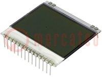 Display: LCD; grafisch; FSTN Positive; 102x64; weiß; 39x38,1mm