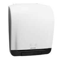 Produktabbildung - Spender - Katrin Inclusive System Handtuchrollenspender, weiß, 403 x 335 x 216 mm (H/B/T), Kunststoff