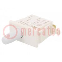 Schalter: für Türen; Pos: 2; SPDT; 10A/125VAC; Schaltw: ON-(ON)