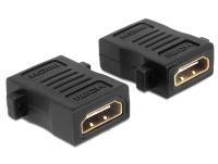 DeLOCK 65509 Kabeladapter HDMI Schwarz