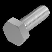 20 St/ück Sechskant-Schrauben V2A - Edelstahl A2 - D/´s Items/® Sechskantschrauben M12x35 DIN 933 Gewindeschrauben Maschinenschrauben mit Vollgewinde