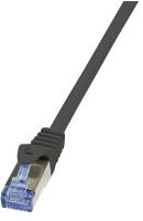 LogiLink Cat6a S/FTP, 3m Netzwerkkabel Schwarz S/FTP (S-STP)
