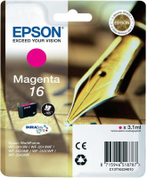 Epson Pen and crossword Singlepack Magenta 16 DURABrite Ultra Ink
