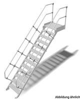 LM-Treppe Plattf. 60° SB.600 1x13 Stu.