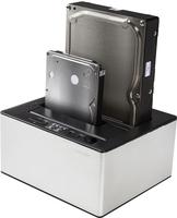 Freecom mDOCK Duplicator Schwarz, Silber