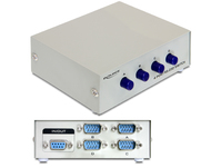 Delock Seriell Umschalter RS-232 / RS-422 / RS-485 4-Port manuell