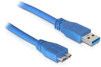 DeLOCK 83502 USB Kabel 5 m USB 3.2 Gen 1 (3.1 Gen 1) USB A Micro-USB B Blau