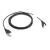 Zebra DC power cable for 4slot cradle Zwart 1,3 m