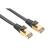 Hama 10m Cat5 Patchcable STP Netzwerkkabel Schwarz
