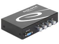 DeLOCK 87636 Serial Switch Box Verkabelt