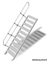 LM-Treppe 60° Stufenbreite 800 1x10 Stu.