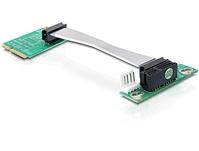 MiniPCIe Riser Karte >PCIe x1 flex, Delock® [41305]