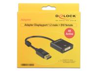 DeLOCK 62599 Videokabel-Adapter 0,2 m Displayport 1.2 DVI-I 24+5 Schwarz