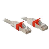 Lindy Cat.6 S/FTP 2m Netzwerkkabel Grau Cat6a S/FTP (S-STP)