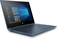 "HP ProBook x360 11 G5 EE DDR4-SDRAM Hybride (2-in-1) 29,5 cm (11.6"") 1366 x 768 Pixels Touchscreen Intel® Celeron® 4 GB 128 GB SSD Wi-Fi 5 (802.11ac) Windows 10 Pro Blauw"