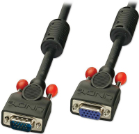 Lindy 36394 VGA-Kabel 3 m VGA (D-Sub) Schwarz