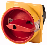 Eaton TM-1-8291/E/SVB Elektroschalter Toggle switch 2P Rot, Gelb