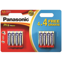 Panasonic Pro Power AA 4+4 Batéria na jedno použitie Alkalický