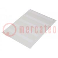 Címke; 25,4mm; 55,5mm; fehér; db: 1000; -40÷150°C; 5,8÷11,6mm2
