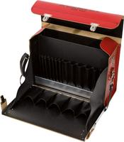 2 St/ück verstellbare Leder-Kantenfalzwerkzeug f/ür Lederkanten zum Sch/älen von Lederarbeiten