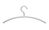 Kleiderbügel Acryl 5 St./VE, weiß