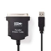 Nedis CCGP60880BK20 USB Kabel 2 m USB 2.0 USB A Schwarz