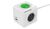 Allocacoc Powercube, Extended USB A+C WirelessCharger, 3xDosen(CEE7)->Stecker(CEE7), 1,5m, weiss/grau